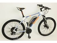GREENWAY electric mountain bike, Samsung cell lithium battery LCD, PAS system £765