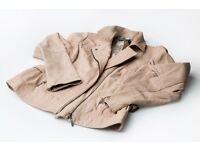 Ladies Planet Leather Jacket Size 12