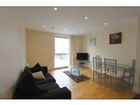 STUNNING two bedroom flat in wharfside . Canary Wharf. 24 hrs porter.On site Gym. 2 MINS to Station