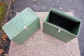 Cool cargo storage boxes