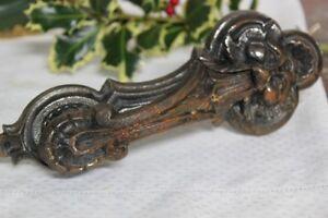 Battente antico in ferro per portone ferramenta d 39 epoca - Batacchio porta ...