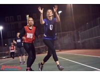 Play Social Netball in Waterloo - Players and Teams