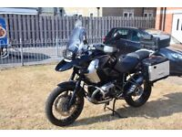 BMW GS 1200 Triple Black Edition 2012, excellent condition FSH, covered by main dealer until 2019