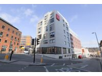 High quality student accommodation with free WIFI, Centrally located and 5th floor city views