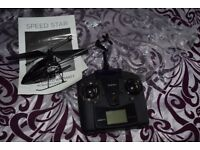 Speed Star remote control helicopter