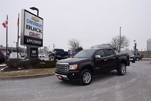 2015 GMC Canyon 4X4, ONE OWNER, LEATHER, NAVIGATION, DRIVERS ALE