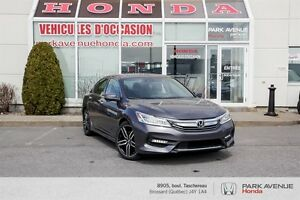 2017 Honda Accord Touring V6*GPS*Cuir*Toit ouvrant*