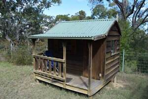 Kids Timber Cubby House - Snowy River cottage style with verandah Blaxlands Ridge Hawkesbury Area Preview