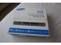 Samsung Blu-ray DVD Player BD-J4500, new in a box