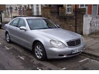 Mercedes S Class 2001 Automatic Private Number Plate Low Mileage!