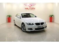 BMW 3 Series 2.0 320d M Sport 2dr (white) 2011