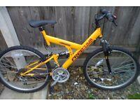mans /boys bike saxon freeclimb