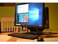 Dell Optiples 3010 SF, PC for Home, study and office i5-3470 Processor, 8GB RAM, Windows 10