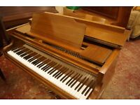 Baby grand piano, U.K. Delivery available. Tuned to concert pitch