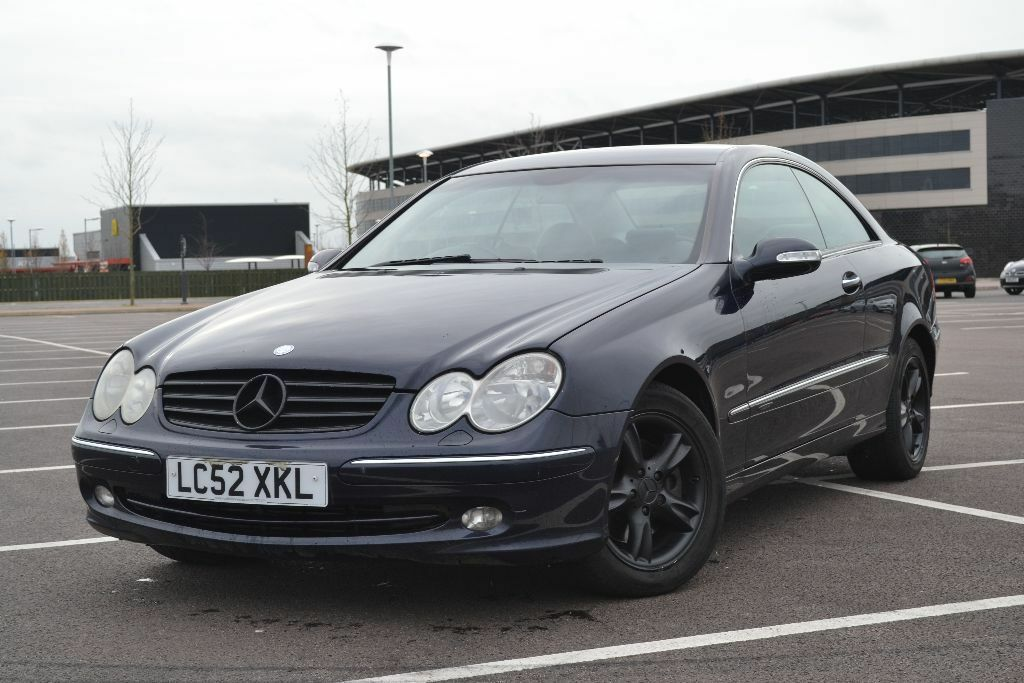 2003 mercedes clk 270 cdi elegance a blue in bletchley buckinghamshire gumtree. Black Bedroom Furniture Sets. Home Design Ideas