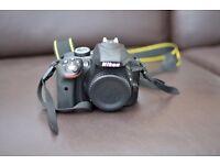 Nikon D3300 DSLR Camera with 18-55mm & 55-200mm lenses DX Lenses