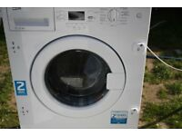BEKO 7KG INTEGRATED WASHING MACHINE GRADED ITEM 6 month warranty**RRP £320