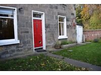 Charming FURNISHED two bedroom (main door) flat with stunning private front garden