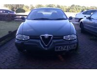 Alfa Romeo 156 2.0 TS - Spares or Repair + EXCELLENT Condition Leather Seats & Interior