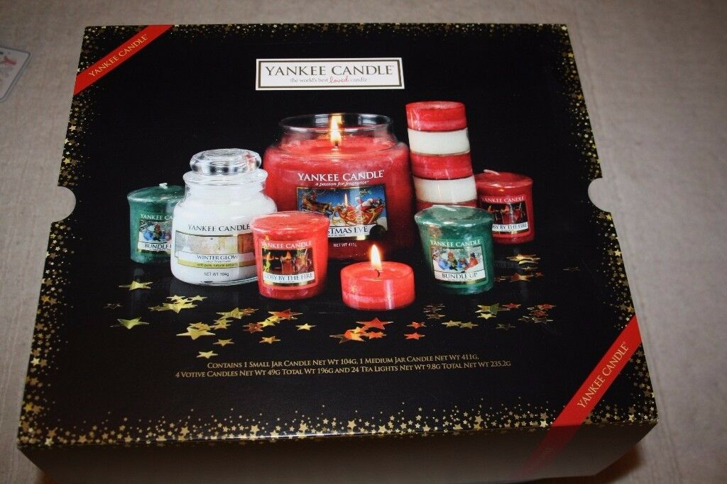 Yankee Candle Christmas Edition RRP £50