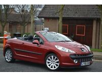 2007 Peugeot 207 CC GT 1.6 HPI clear Vosa verified 2 keys