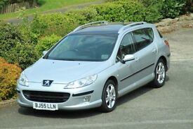 2005 Peugeot 407 SW 2.0 HDi Auto Lux Pack