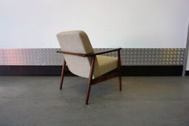 Mid Century Modern Easy Chairs 1960's - Fully Restored