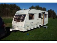 Avondale Millennium caravan year 2000 good condition includes awning and extras, 5 berth
