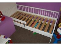 Ikea Gulliver Junior Toddler Bed with Guard Rail