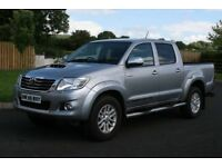 2015 Toyota Hilux Invincible Manual 4x4 Crew Cab Pickup