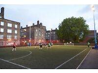 Teams and individuals wanted for our new 5-a-side football league at Clapham Junction/Battersea
