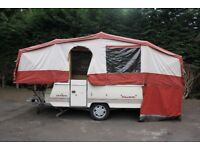 Pennine Pullman 6 Berth Folding Camper/ Trailer Tent + Full Awning