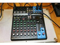 Yamaha MG10XU Mixer with Digital effects built in and USB out - Great mixer nearly new