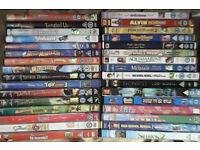35 family dvds (Disney, Dreamworks etc)