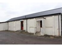 STORE/WORKSHOP, JOHNSTONE, WITH RETAIL CONSENT, 1400 SQARE FEET, WITHIN YARD, PARKING FOR 6 CARS