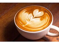 Coffee Shop Staff Wanted Hampton - Barista