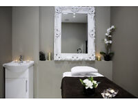 Rent: Treatment Room (£200/week), 2 Stylist Chairs (£150/week) & Manicurist Table (£350/month)