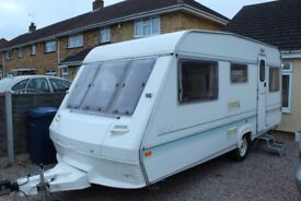 4 Berth ABI Caravan with 390 awning very good condition inside and out
