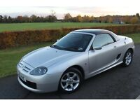 MG TF + HARD TOP, Leather seats, 2002, 1.8L , 135 convertible