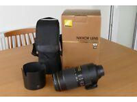 Nikon Nikkor AF-S 80 - 400mm f/4.5 - 5.6G ED VR Lens