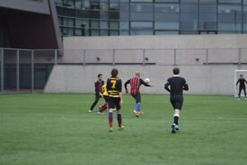 Play 7 a-side Football in Hackney. Sunday league starting late Nov