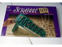 Vintage Board Game. Scrabble Up. Mint condition word game.