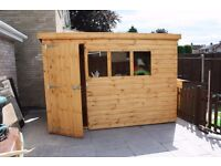 10ft x 6ft Pent Shed