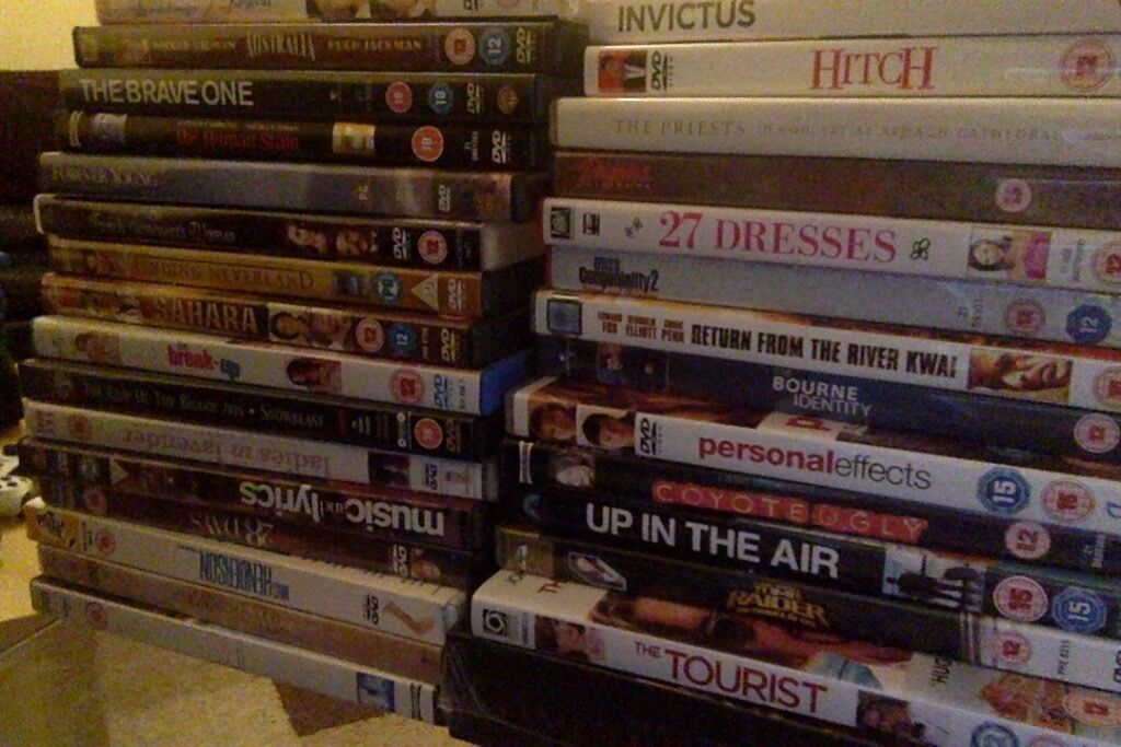 DVD Bundle Joblot perfect for carboot sale etc  in Newcastle
