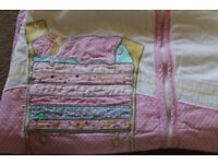 JoJo Maman Bebe Sleeping Bag. Approx 18mnths - 4yrs. Good condition.