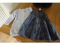 Two little Girl's Mayoral dresses size 18 mths