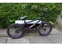 Ruption Impact BMX - size 18 inch wheels - suitablw for 7-10 year olds