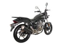 NEW ZONTES MANTIS 125CC, OWN FOR £7.52 PER WEEK