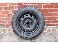Unused wheel and tyre