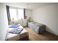 Comfortable twin room perfectly located in KENTISH TOWN ideal for two friends!83w